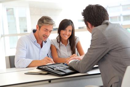 Online Beratung und Kredit-Abschluss